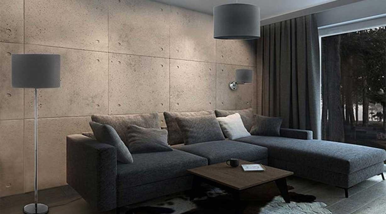 Graue Leuchten Wohnzimmer