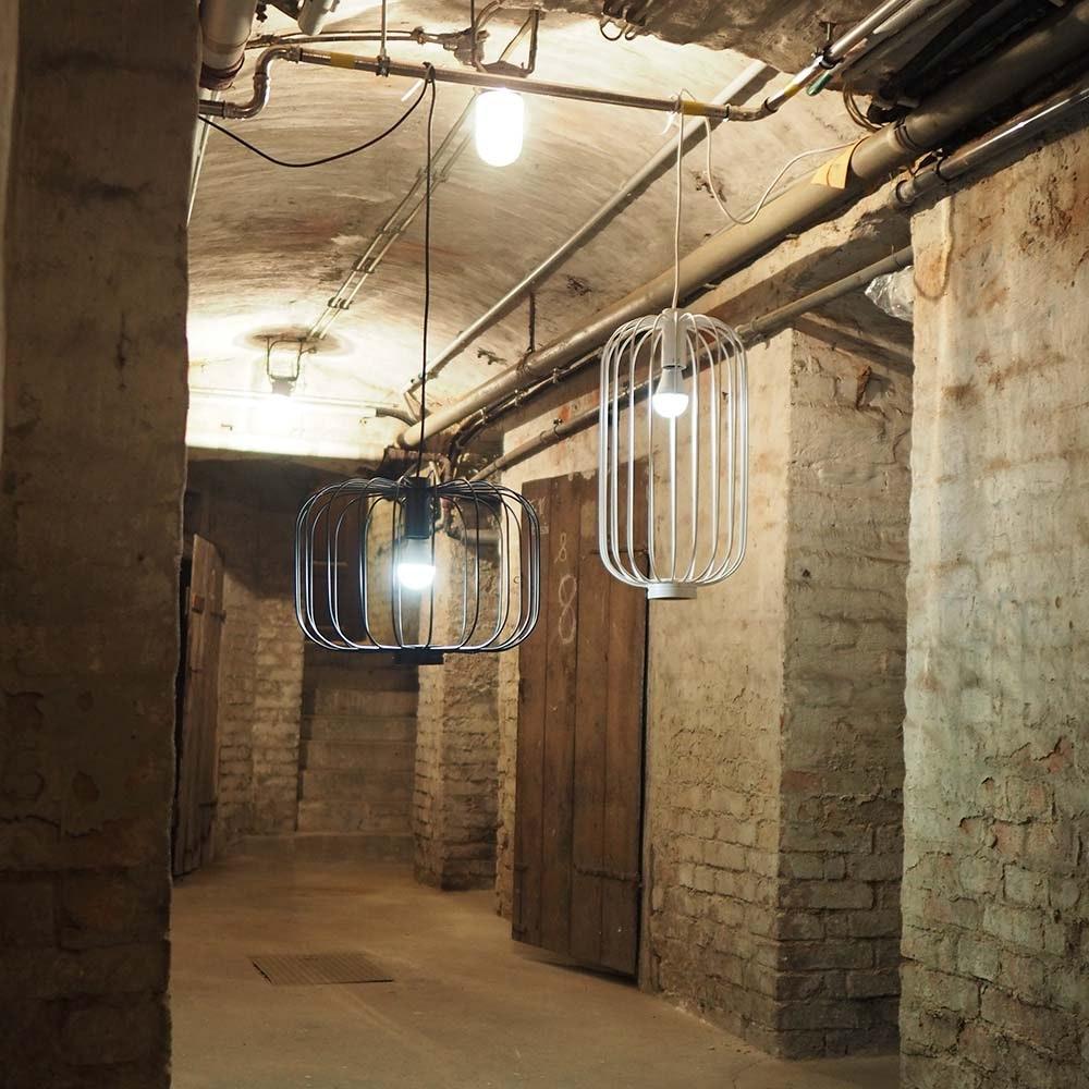 s.LUCE Rooms L direkt & indirekte Gitter-Hängeleuchte Ø 48cm 6