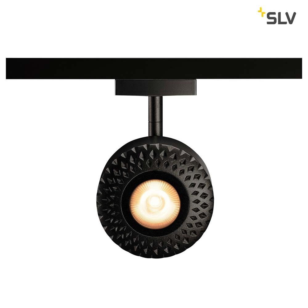 SLV Tothee LED Strahler für 2Phasen-Stromschiene 3000K Schwarz 50° 3
