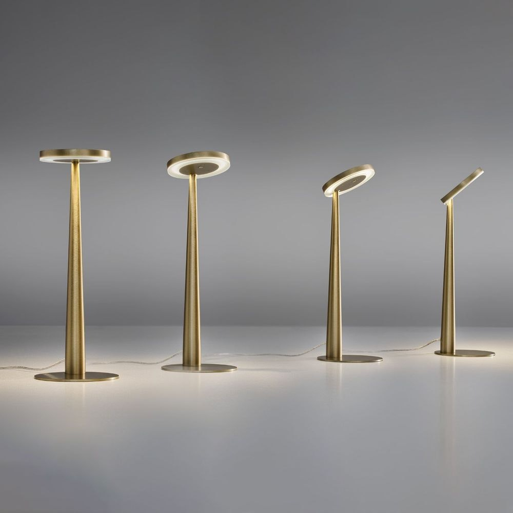Panzeri Bella LED-Tischlampe Touchschalter