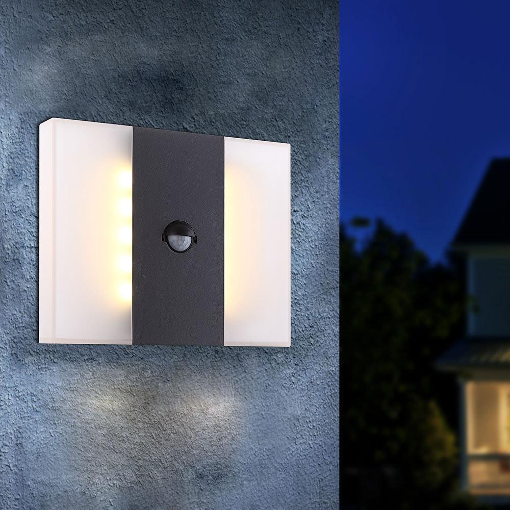 Licht-Trend LED Sensor Wand-Außenleuchte Tandil 680lm