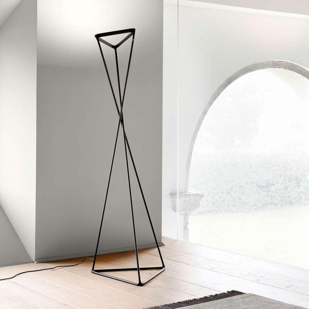 Luceplan LED Stehlampe Tango schwarz 2