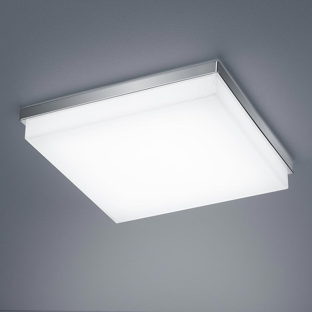 Helestra Cosi LED Deckenleuchte L Nickel-Matt 1