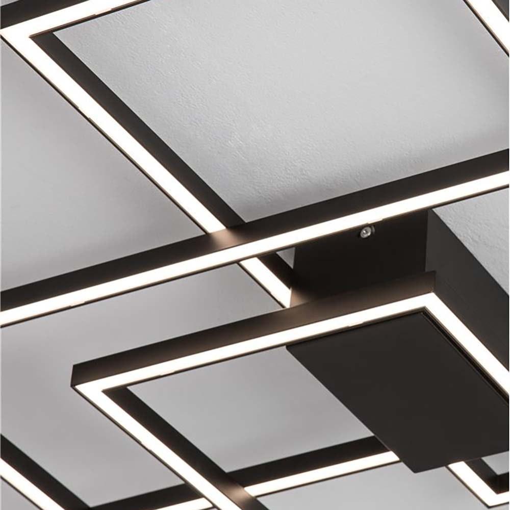 LED-Deckenleuchte Bilbao Matt-Schwarz 3