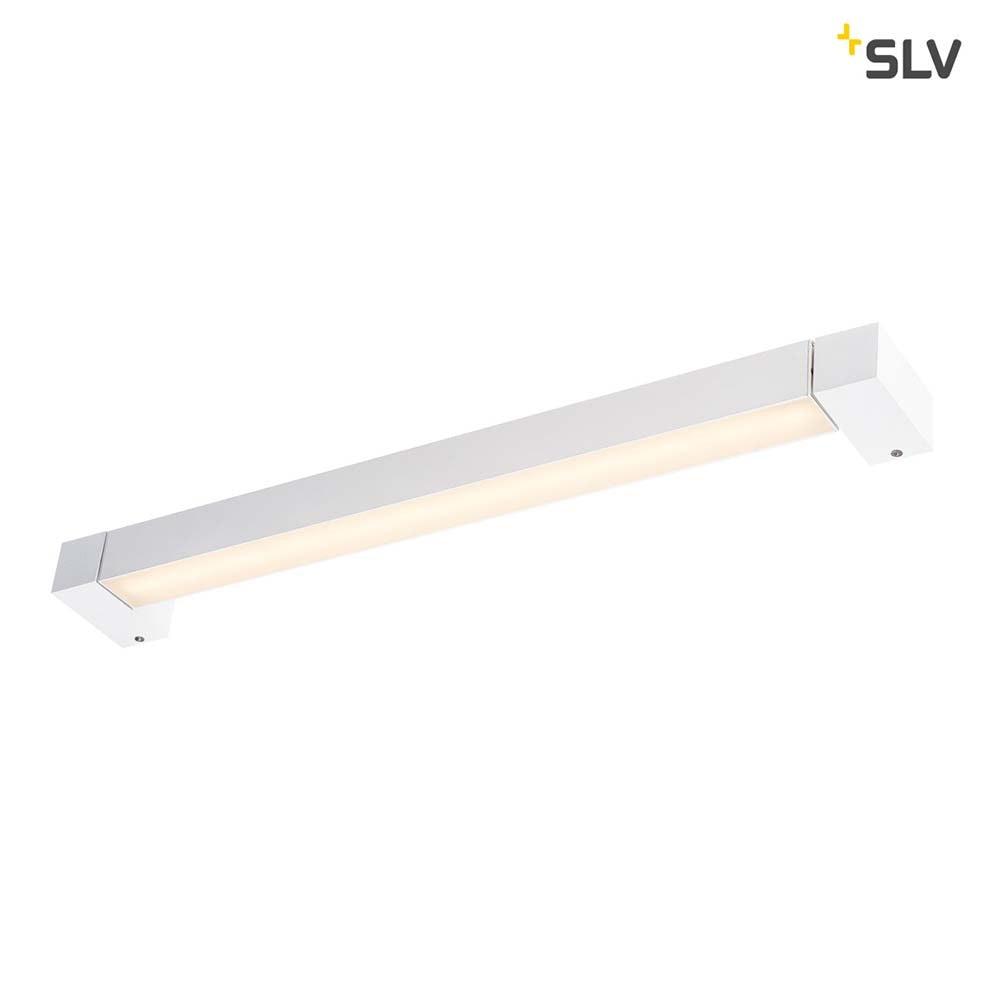 SLV Long Grill LED Wand- und Deckenleuchte Weiß 3000K 3