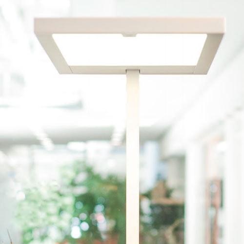 Kiteo LED Büro-Stehleuchte K-Virtus II HCL ZigBee 3.0 4