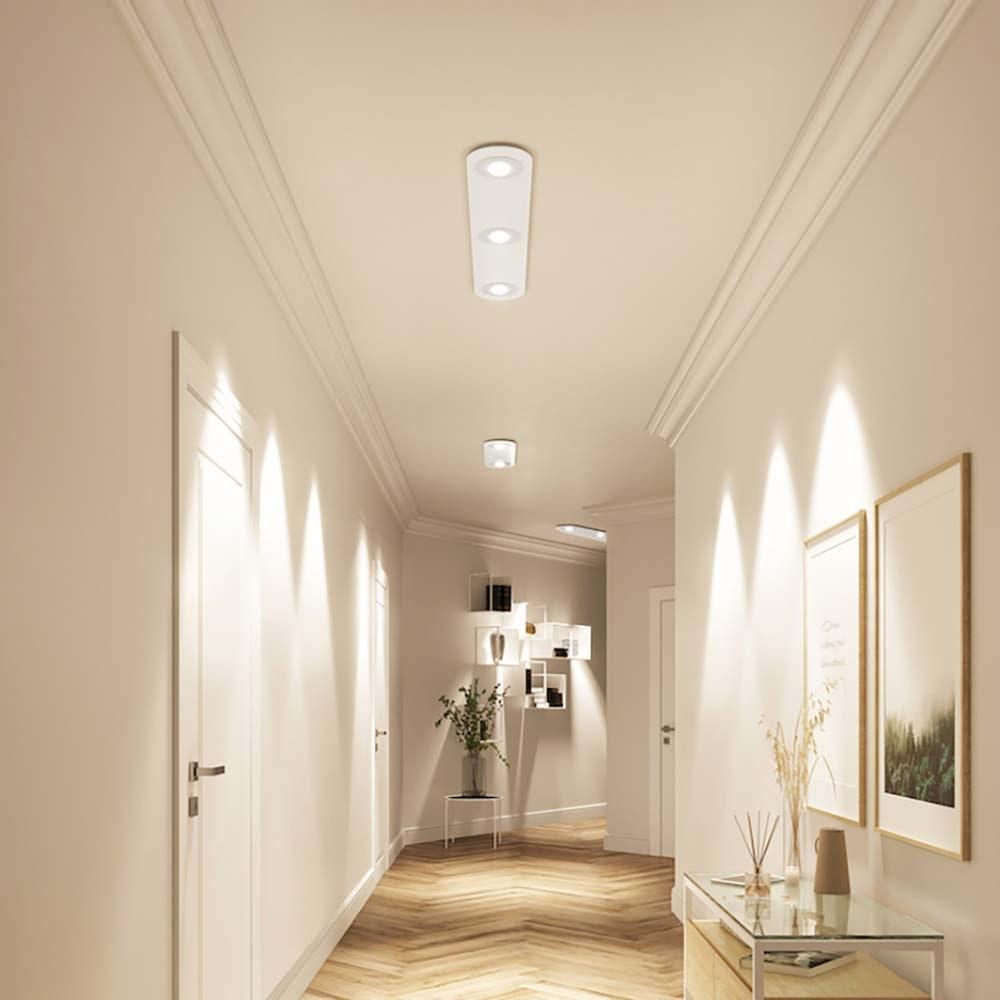 Casablanca LED-Einbauleuchte Tet Multi mit Linse 3-flammig