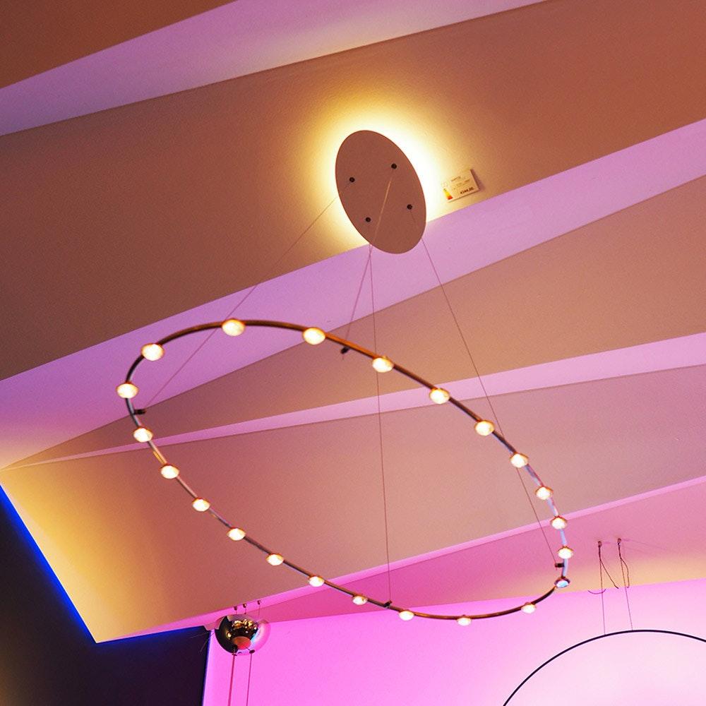 Catellani & Smith Petits Lentilles 22 LED-Hängelampe 120 x 60cm 1