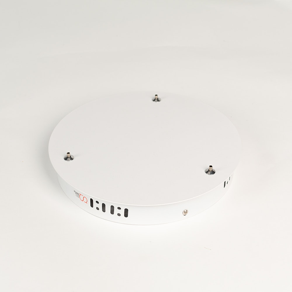 Ersatz-Baldachin 3-fach Ø 18cm für s.LUCE Ring-Leuchte thumbnail 4