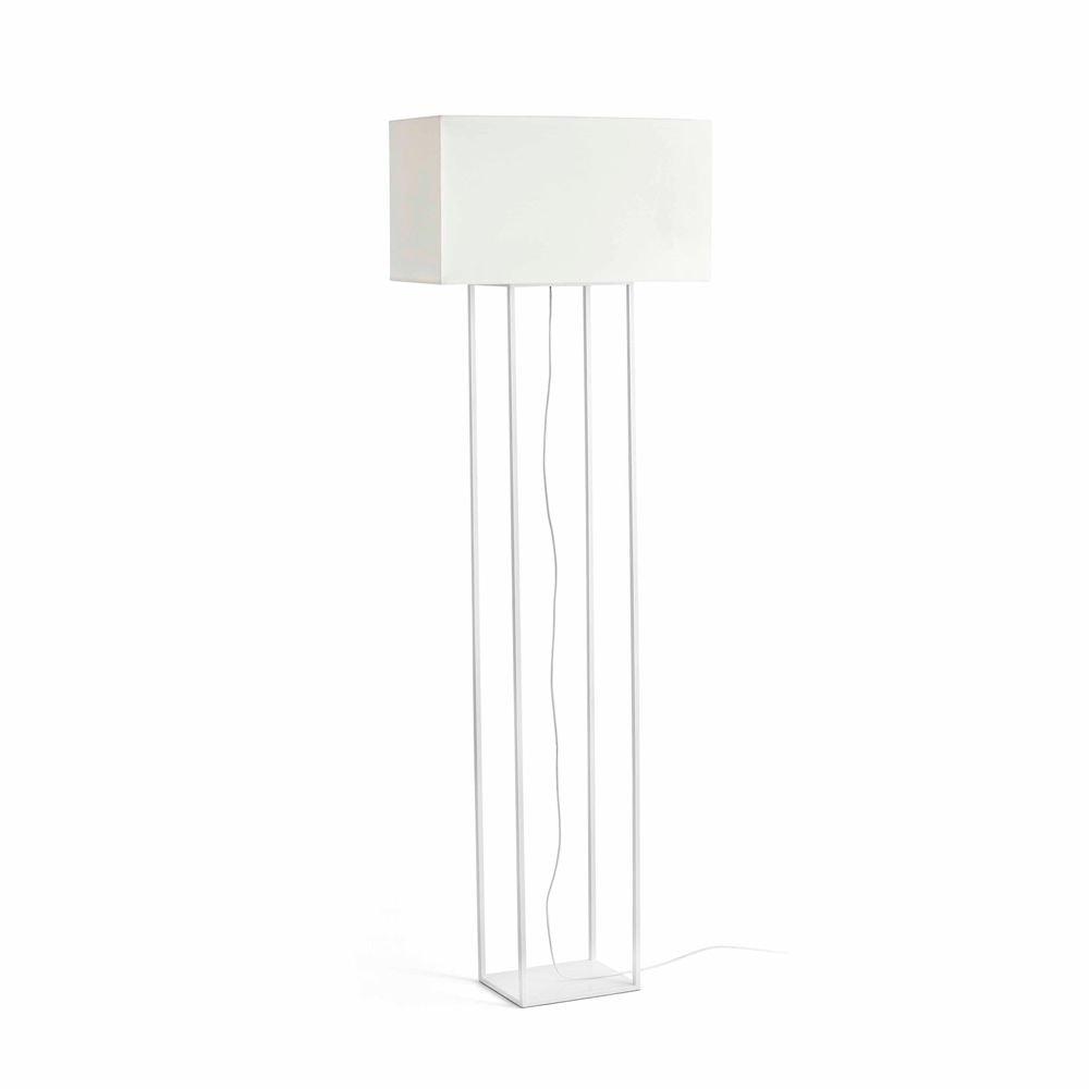 Stehlampe VESPER Weiß, Beige