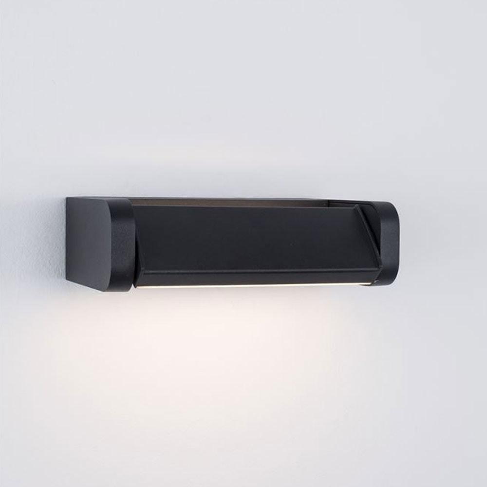 Nova Luce Volver LED-Wandleuchte drehbar Schwarz thumbnail 3