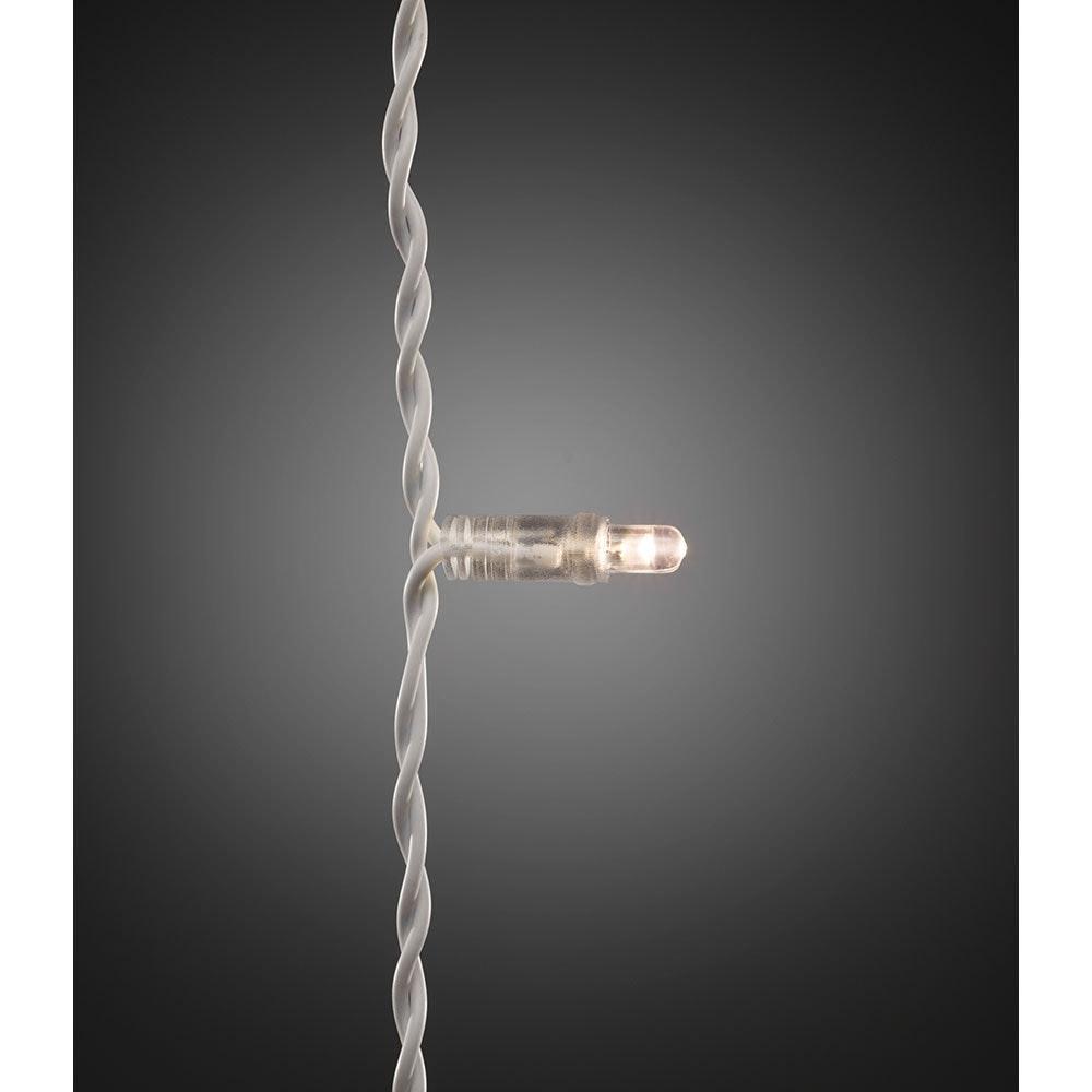 Maxi LED kompakt System Basis-Set: Lichtervorhang 104 Warmweiße Dioden IP44 2