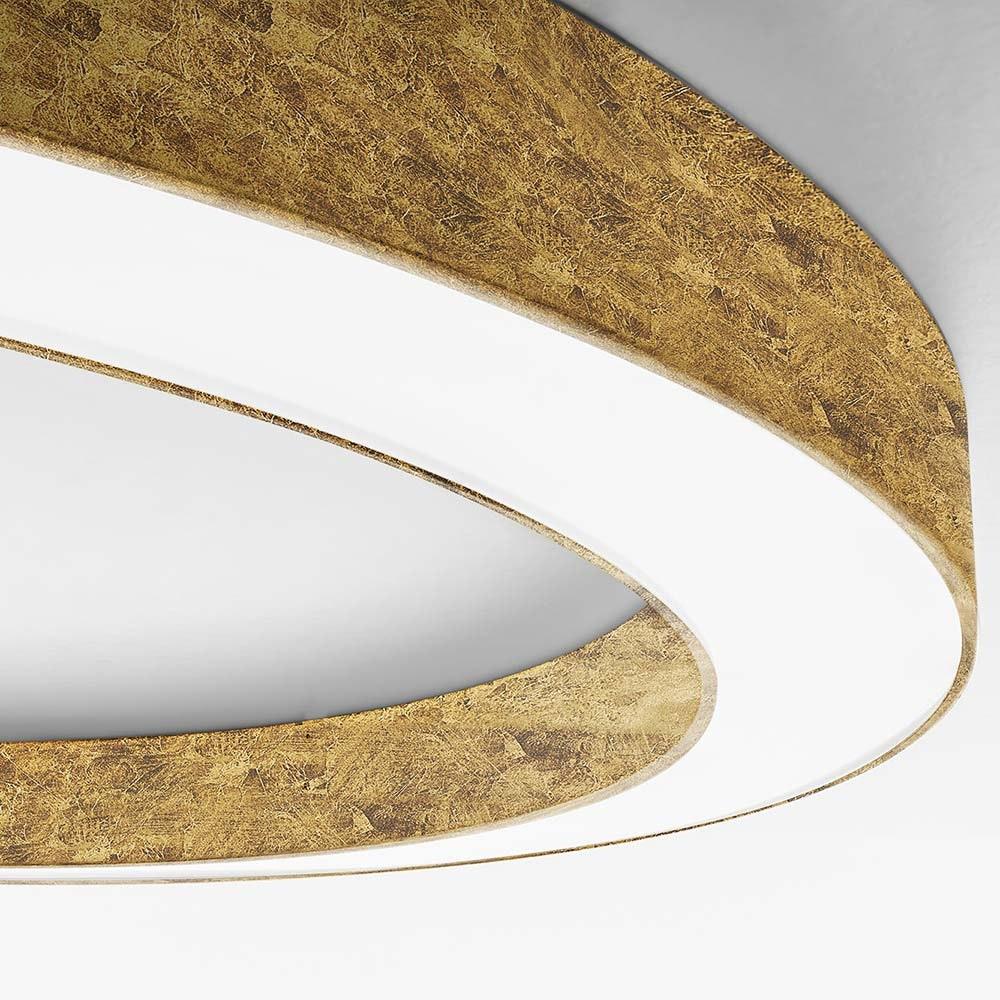 Panzeri Silver Ring LED-Deckenlampe dimmbar 7