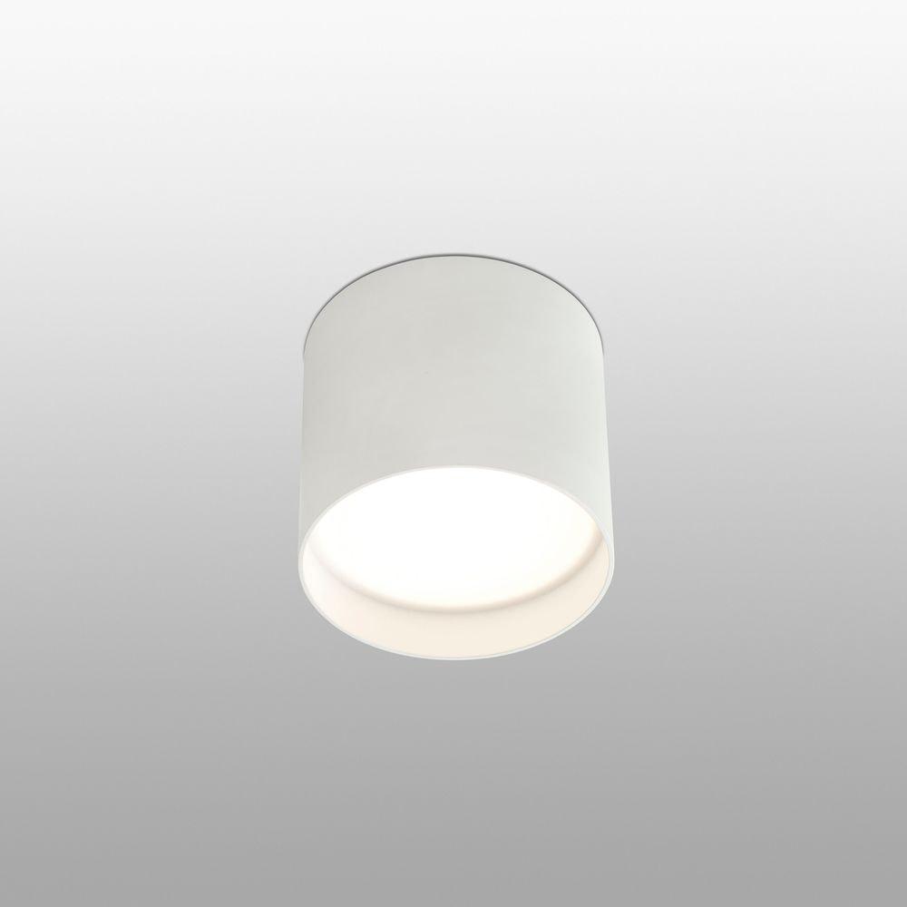 Runde LED Deckenleuchte NATSU Weiß