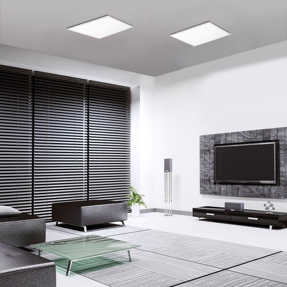 Q-Flat 30 x 30cm LED Deckenleuchte 4000K Weiß