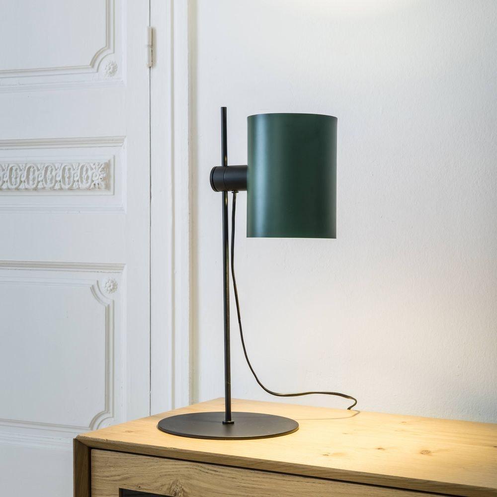 Lupe Tischlampe (ohne Schirm) Schwarz 2