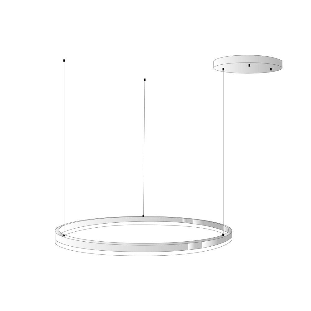 s.LUCE Ring Umbau zentrisch / exzentrisch (ohne LED-Ringe) 15