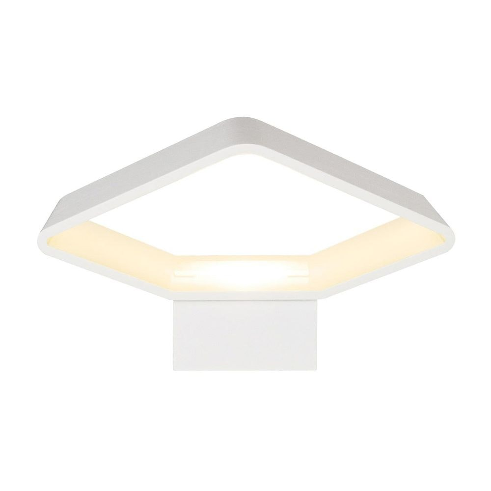 SLV CARISO LED Wandleuchte 2 Weiß 7,5W LED 3000K 2