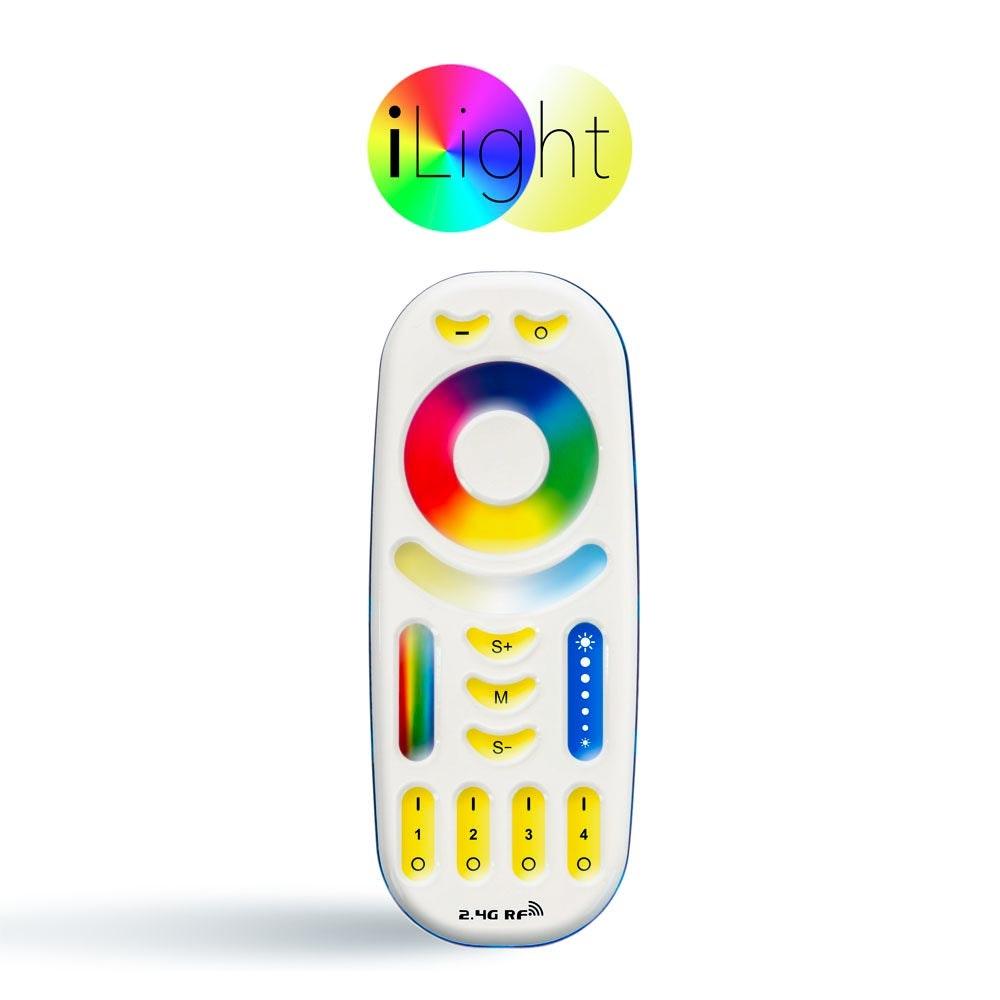 s.LUCE iLight Fernbedienung für Leuchtmittel & Strip RGB + CCT