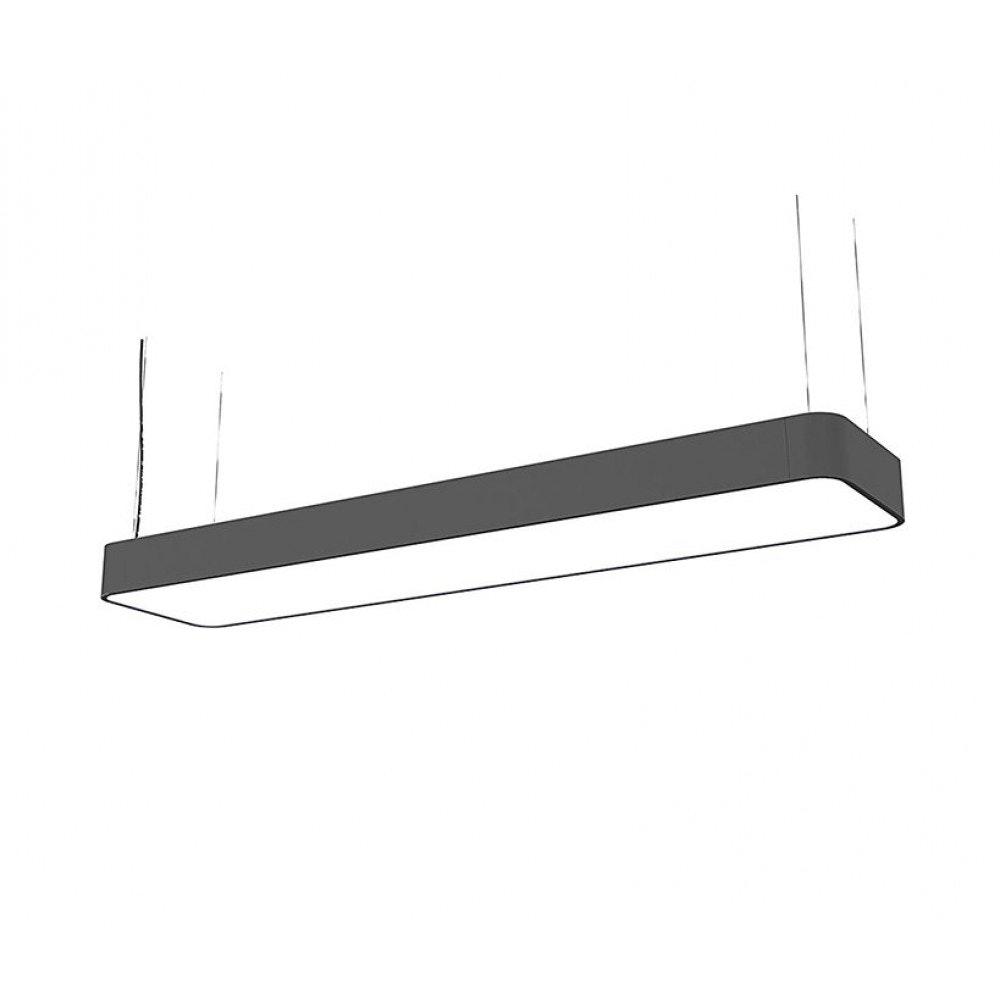 Licht-Trend LED Hängeleuchte Talu 90x20cm Grau