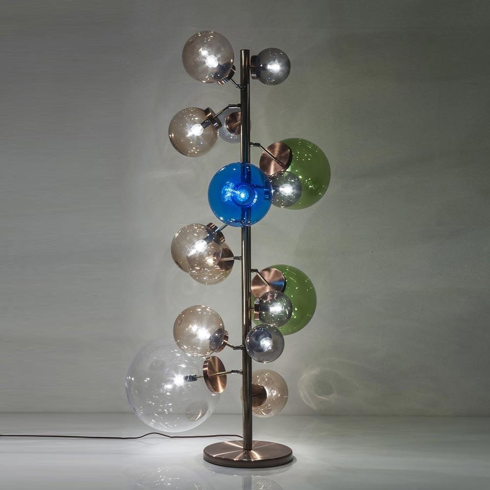 KARE Kugel-Stehleuchte Balloon Colore 160cm 1