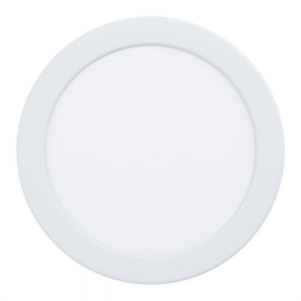 Fueva LED-Einbaupanel Ø 16,6 1200lm Warmweiß Weiß dimmbar 1