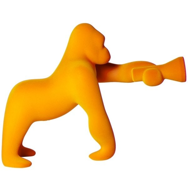 Qeeboo Kong XS Samt Tischlampe Gorilla 6