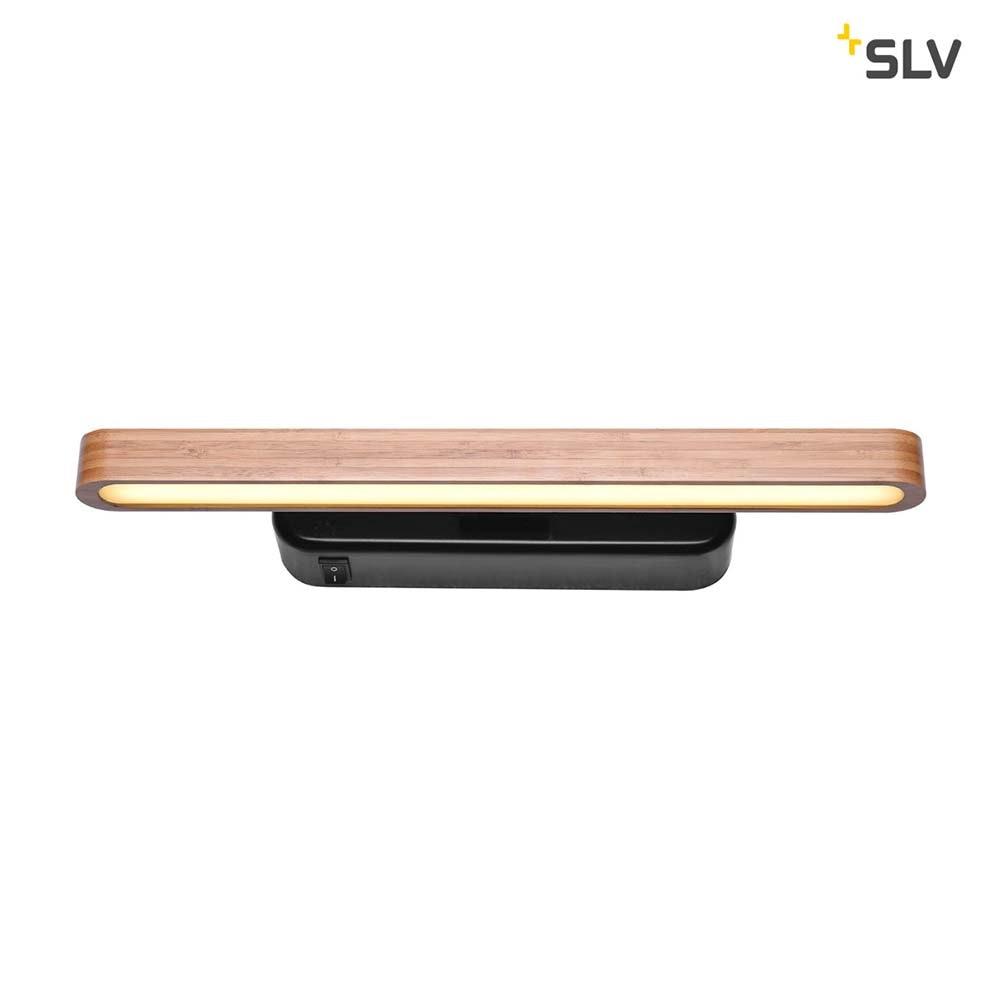SLV Vincelli D LED Displayleuchte Kurz Bambus