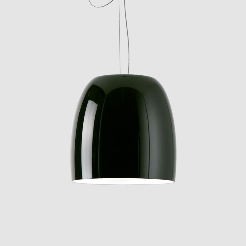 Prandina design Pendelleuchte Notte S3 Schwarz, Weiß 1