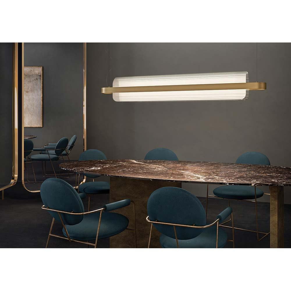 Kundalini LED Esstischleuchte Nami 150cm Dimmbar 2