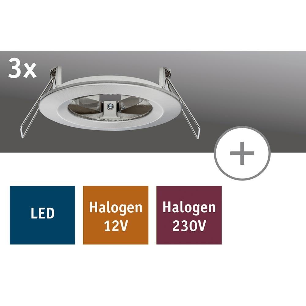 2Easy Einbauring Nova IP44 rund Eisen 3er-Set 2