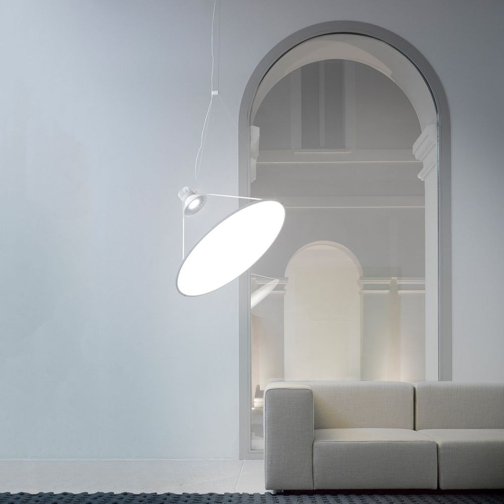 Luceplan Amisol LED Hängelampe (Körper) 53W 3000K Dimmbar Hellgrau thumbnail 4