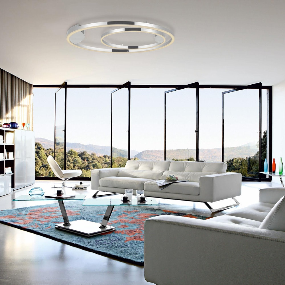 s.LUCE Ring 80 Wand & Deckenlampe LED Dimmbar 9