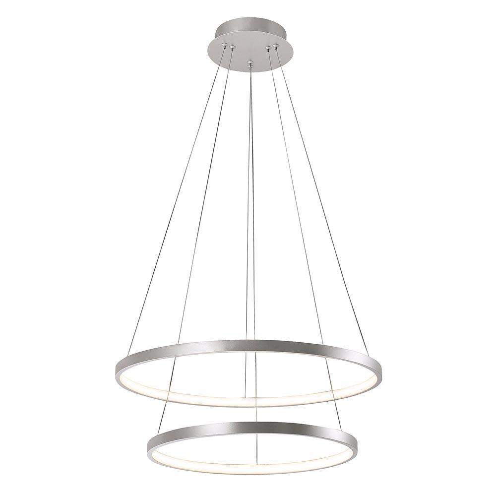 LED Ring-Hängeleuchte Circle Ø 50cm 1