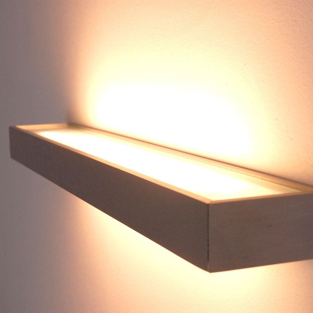s.LUCE Cusa LED-Lichtboard 70cm Wandleuchte Up&Down Alu-gebürstet 11