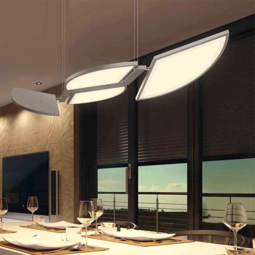 Movil LED Pendelleuchte + Fb. 54W 6270lm 2700-6500K 1