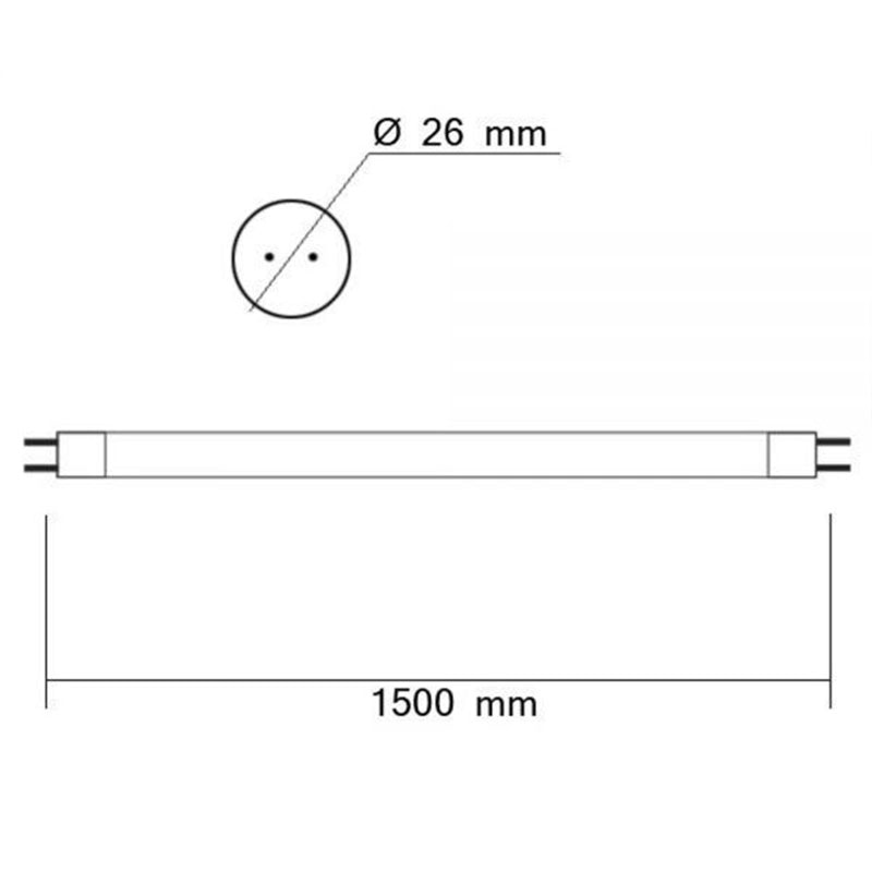 T8 LED Röhre Nano+ 150 in Neutralweiß 3150lm 2