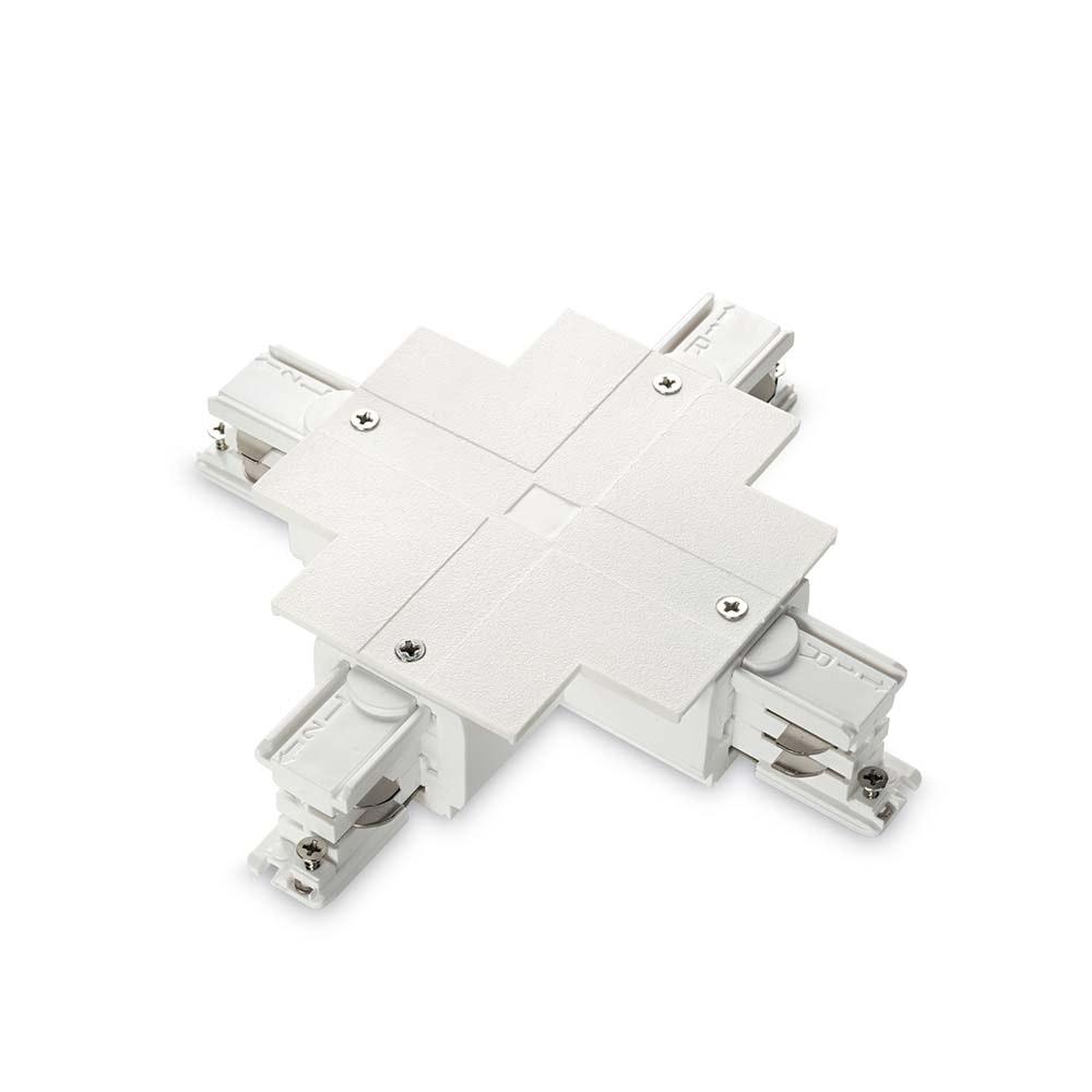 Ideal Lux Ersatzteil Link Trim X-Connector White