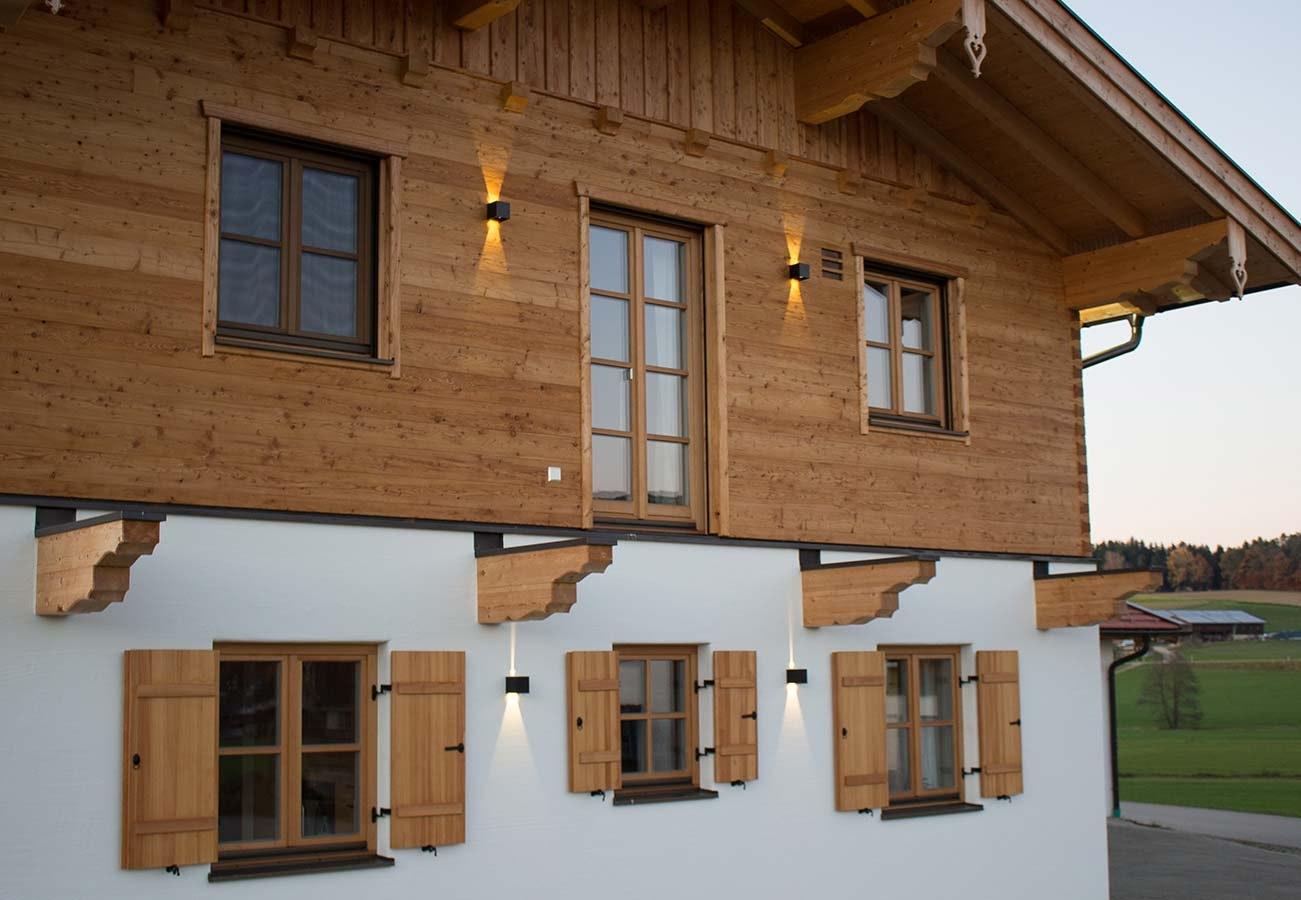 Fassadenbeleuchtung Spots