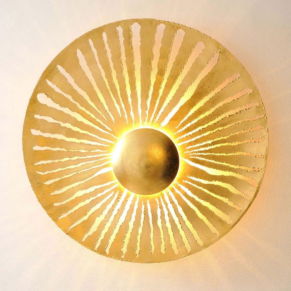 Wandleuchte 6-flammig Pietro Eisen Gold 1