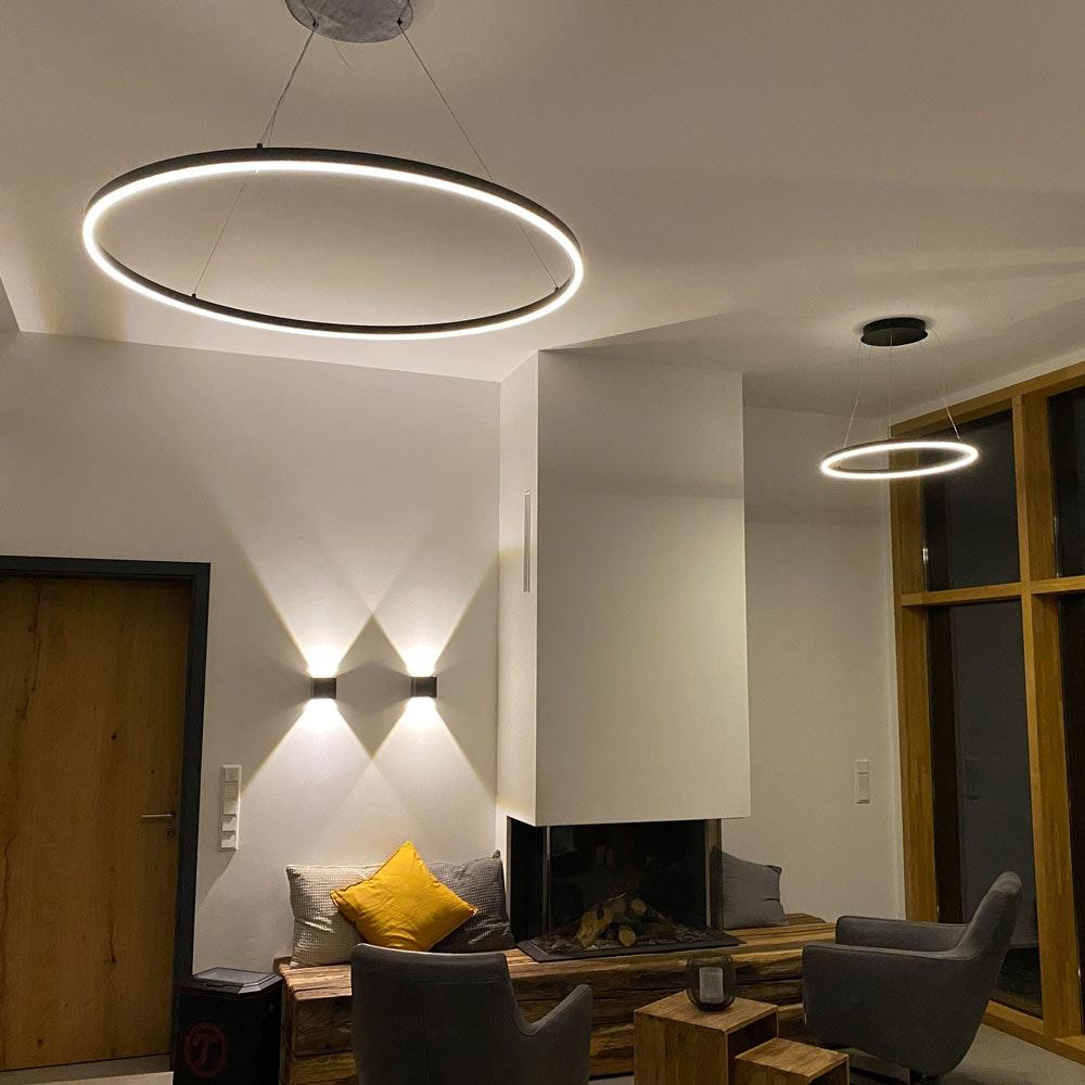 s.LUCE pro Ixa LED Innen- & Außen-Wandleuchte IP44 10