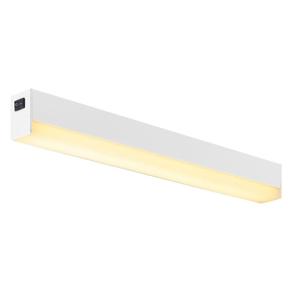 SLV Sight LED Wand- und Deckenleuchte mit Schalter 60cm Weiß 2