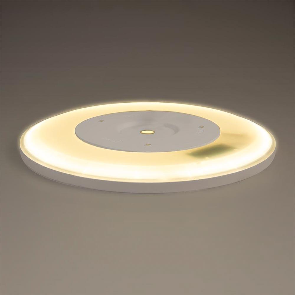 s.LUCE Disk 35cm LED Deckenleuchte warmweiß dimmbar 20