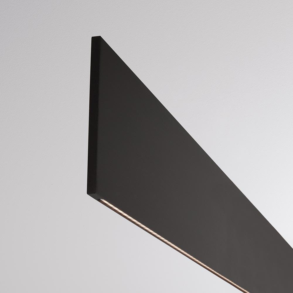Molto Luce After 8 LED Schreibtischlampe 122cm Schwarz Dali dimmbar 2