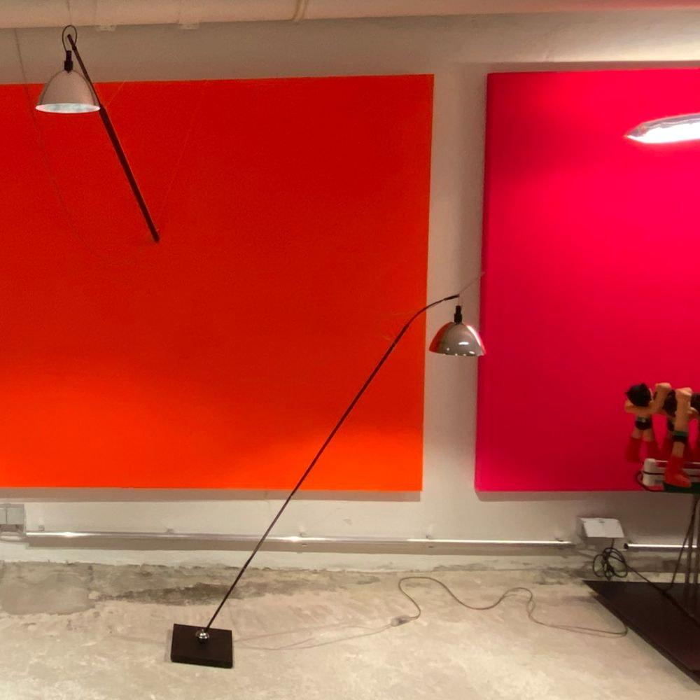 Ingo Maurer Wand- oder Hängelampe Max. Mover LED max 210cm 2
