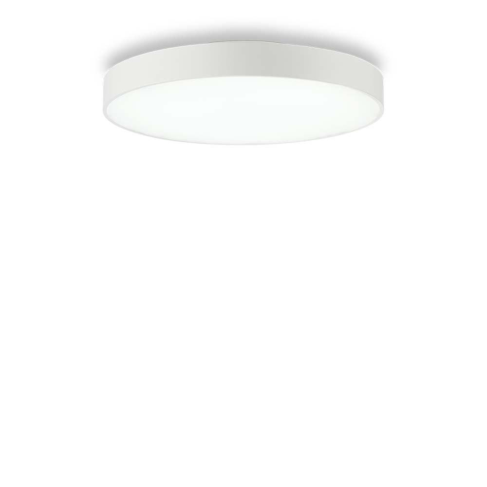 Ideal Lux LED Deckenleuchte Halo Ø 45cm 4000K Weiß