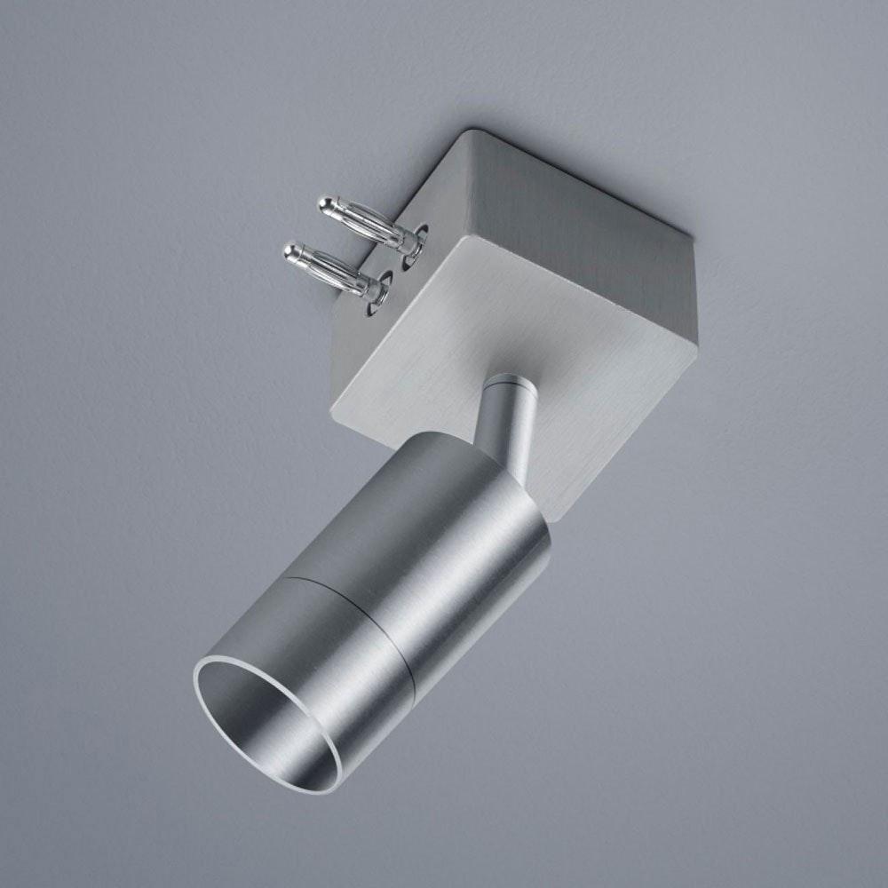 VIGO System 1er Strahlermodul und Endstück Alu-matt 1