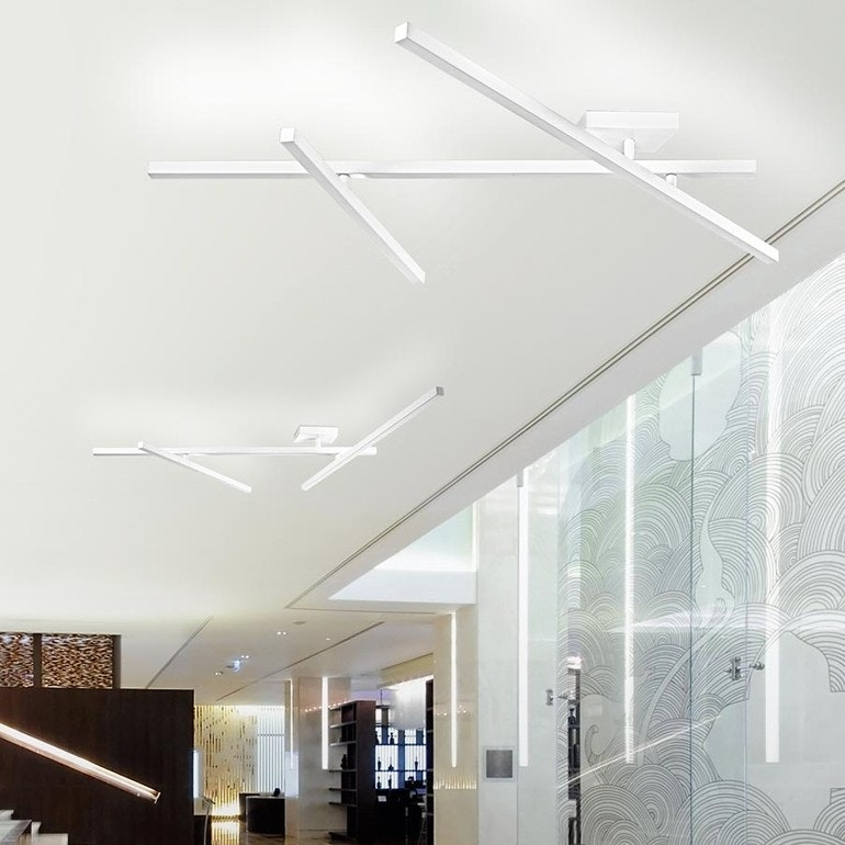 Panzeri Carmen LED Wand- oder Deckenleuchte drehbar
