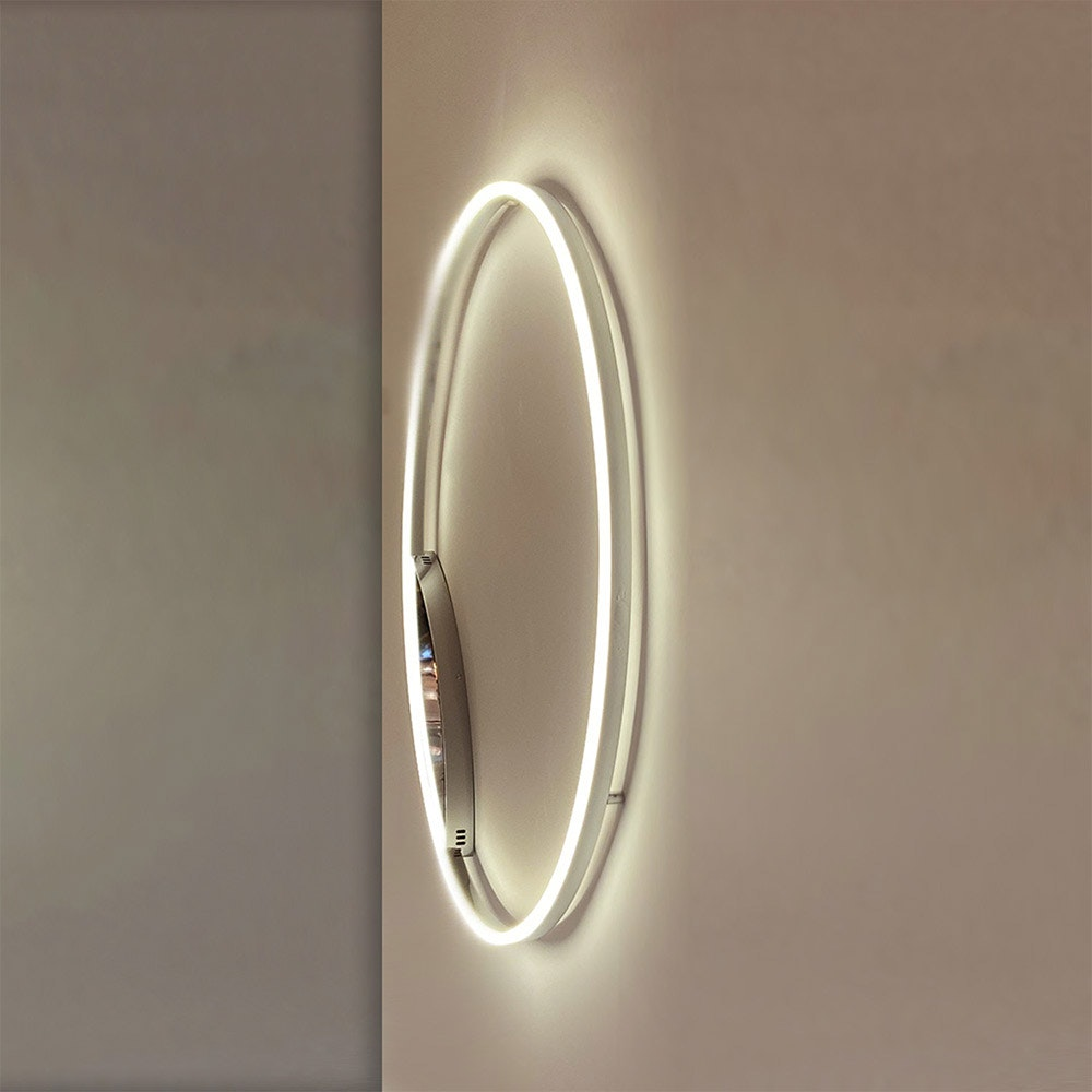 s.LUCE Ring 80 Wand & Deckenlampe LED Dimmbar 8