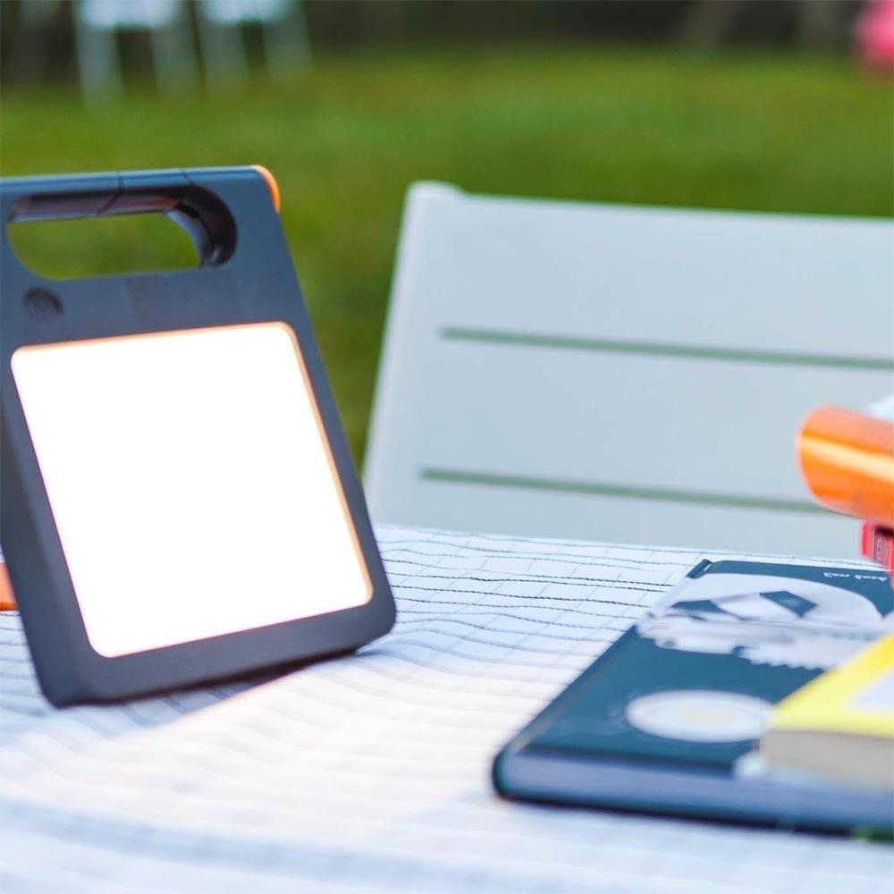 Mobile LED Solarlampe Padlight IP44 Weiß 1